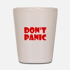 Dont Panic Hitchhikikers Shot Glass