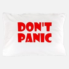 Dont Panic Hitchhikikers Pillow Case