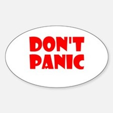 Dont Panic Hitchhikikers Decal