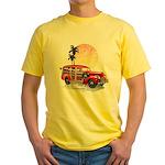WOODIE Yellow T-Shirt