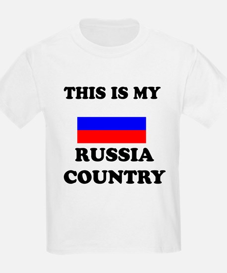 This Is My Russia Country T-Shirt