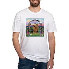 Rose Arbor & Yorkie #7 Shirt