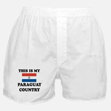This Is My Paraguay Country Boxer Shorts