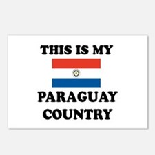 This Is My Paraguay Count Postcards (Package of 8)