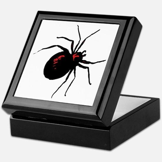 Black Widow Spider Keepsake Box