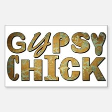 GYPSY CHICK Decal