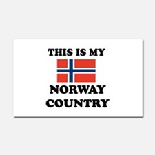 This Is My Norway Country Car Magnet 20 x 12