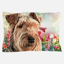 Airedale Painting Pillow Case