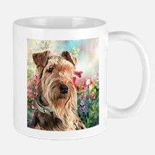 Airedale Painting Mugs