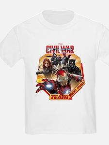Team Iron Man Hexagon T-Shirt