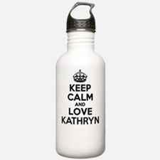 Keep Calm and Love KAT Water Bottle