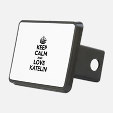 Keep Calm and Love KATELIN Hitch Cover
