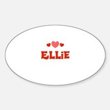 Ellie Oval Decal