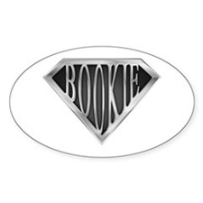 SuperBookie(metal) Oval Decal