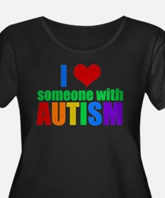 Autism Love Plus Size T-Shirt