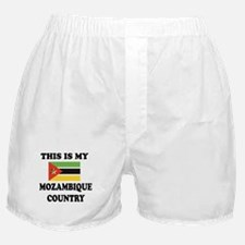 This Is My Mozambique Country Boxer Shorts