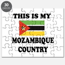 This Is My Mozambique Country Puzzle