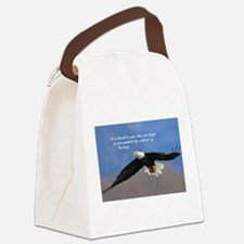 Soar Like an Eagle… if you Can Canvas Lunch Bag