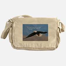 Soar Like an Eagle… if you Can Messenger Bag