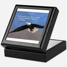 Soar Like an Eagle… if you Can Keepsake Box
