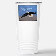 Soar Like an Eagle… if you Can Travel Mug