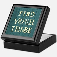 FIND YOUR TRIBE Keepsake Box