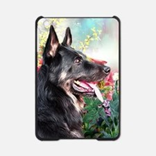 German Shepherd Painting iPad Mini Case