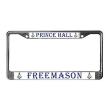 Prince Hall Freemason License Plate Frame