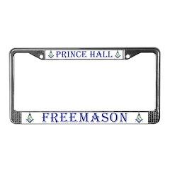 Prince Hall Freemason License Plate Frame