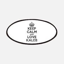 Keep Calm and Love KALEB Patch