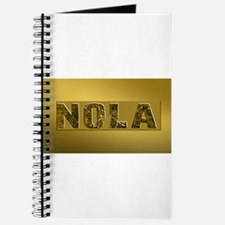 NOLA BLACK AND GOLD 4 Journal