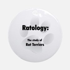 Ratology Ornament (Round)
