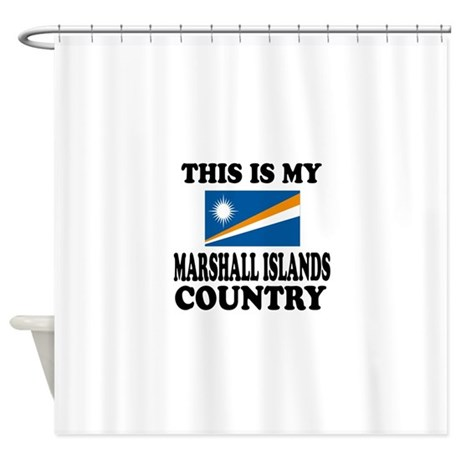 This Is My Marshall Islands Country Shower Curtain By