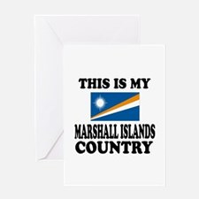 This Is My Marshall Islands Country Greeting Card