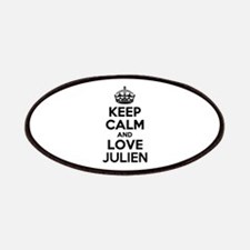 Keep Calm and Love JULIEN Patch