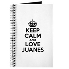 Keep Calm and Love JUANES Journal