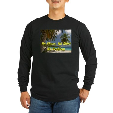Island Long Sleeve Dark T-Shirt