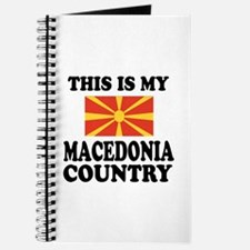 This Is My Macedonia Country Journal
