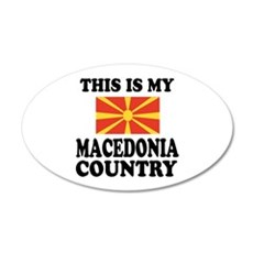 This Is My Macedonia Country Wall Decal
