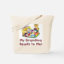Grandma Reads Tote Bag