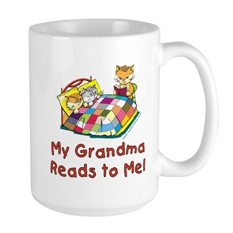 Grandma Reads Large Mug