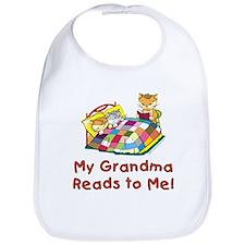 Grandma Reads Bib