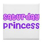 Saturday Princess Tile Coaster