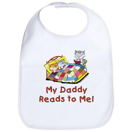 Daddy Reads Bib