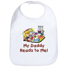 Daddy Reads Bib