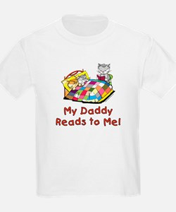 Daddy Reads T-Shirt