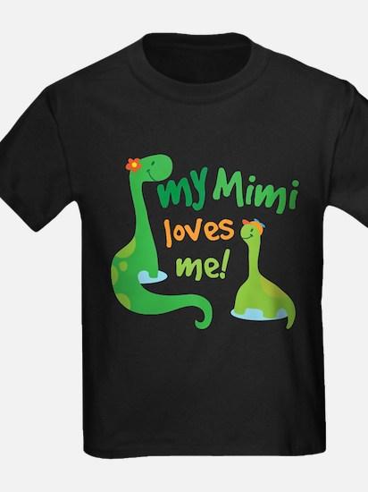 My Mimi Loves Me Dinosaur T-Shirt