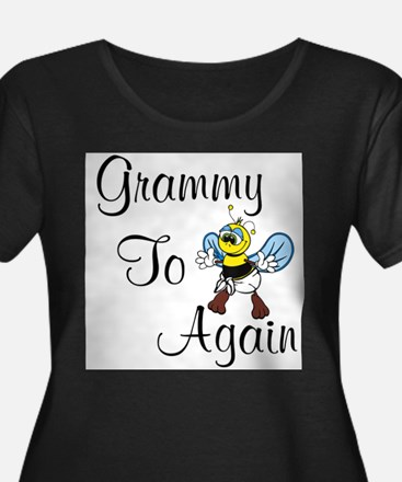 Grammy To Bee Again Plus Size T-Shirt