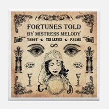 MISTRESS MELODY Tile Coaster