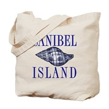 Sanibel Island Shell - Tote or Beach Bag